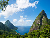Piton Mountains St. Lucia